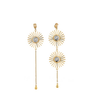 Beauty Inside Lee Da Hee Inspired Earrings 003 - ONE SIZE ONLY / Gold - Earrings