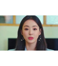 Beauty Inside Lee Da Hee Inspired Earrings 011 - Earrings