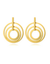 Beauty Inside Lee Da Hee Inspired Earrings 012 - ONE SIZE ONLY / Gold - Earrings
