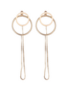 Beauty Inside Seo Hyun Jin Inspired Earrings 002 - ONE SIZE ONLY / Gold - Earrings