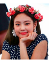 Blackpink Jennie Inspired Flower Earrings - Earrings