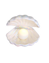 Clam Shell Lamp - ONE SIZE ONLY / White - Gifts