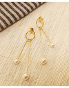 Crash Landing on You Seo Ji-hye Inspired Earrings 001 - ONE SIZE ONLY / Gold - Earrings