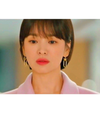 Encounter Boyfriend Song Hye Kyo Inspired Earrings 012 - Earrings