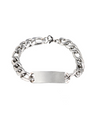 Extraordinary You Kim Young Dae Inspired Bracelet 001 - 22 cm in circumference / Silver / Pattern 1 - Bracelet