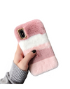 Furry Cute iPhone Case - iPhone 6 / Pink - iPhone Case