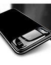 Glossy Tempered Glass iPhone Case - Black / iPhone 7 - iPhone Case