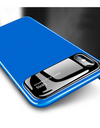 Glossy Tempered Glass iPhone Case - Blue / iPhone 7 - iPhone Case