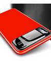 Glossy Tempered Glass iPhone Case - Red / iPhone 7 - iPhone Case