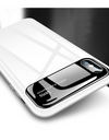 Glossy Tempered Glass iPhone Case - White / iPhone 7 - iPhone Case