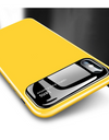 Glossy Tempered Glass iPhone Case - Yellow / iPhone 7 - iPhone Case
