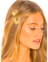 Gold Clam Hair Clip 001 - Hair Accessories