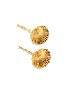 Gold Clam Hair Clip 001 - ONE SIZE ONLY / Gold / A Pair (Two Pieces) - Hair Accessories