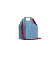 Got Milk Carton Bag - Denim Blue - Bags