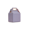 Got Milk Carton Bag - Plaid Blue - Bags