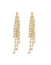 Graceful Family Im Soo-hyang Inspired Earrings 006 - ONE SIZE ONLY / Gold - Earrings