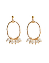 Graceful Family Im Soo-hyang Inspired Earrings 007 - ONE SIZE ONLY / Gold - Earrings