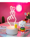 Heart Finger Lamp - ONE SIZE ONLY / White / Heart Finger - Gifts
