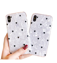 Hearts All Over iPhone Case