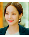 Her Private Life Park Min Young Inspired Earrings 041 - Earrings
