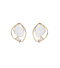 Her Private Life Park Min Young Inspired Earrings 050 - ONE SIZE ONLY / Gold - Earrings