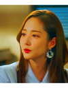 Her Private Life Park Min Young Inspired Earrings 051 - Earrings