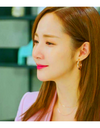 Her Private Life Park Min Young Inspired Earrings 052 - Earrings