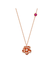 Her Private Life Park Min Young Inspired Rose Splendor Necklace - ONE SIZE ONLY / Gold - Necklace