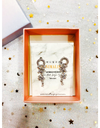 Hotel Del Luna IU Inspired Earrings 002 - ONE SIZE ONLY / Silver / Modern Version - Earrings