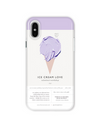 Ice Cream iPhone Case - Purple / iPhone 7 - iPhone Case