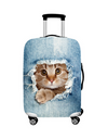 Incredibly Realistic Cat Luggage Dust Cover - Blue / L / Cat in Ripped Pocket - Bags