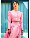 It's Okay To Not Be Okay Seo Ye-ji Inspired Dress 008 - S / Pink / Produced only in 20 business days time - Dresses