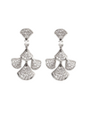 Graceful Family Im Soo-hyang Inspired Earrings 015 - ONE SIZE ONLY / Silver - Earrings