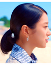 It's Okay To Not Be Okay Seo Ye-ji Inspired Earrings 020 - ONE SIZE ONLY / Silver - Earrings