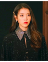 IU Celebrity (Acoustic Showcase) Inspired Hair Clip 001 - ONE SIZE ONLY / Champagne-Gray - Hair Accessories