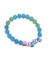 IU Inspired Bracelet 001 - Light Blue (Same as IU) / JIEUN - Bracelet