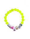 IU Inspired Bracelet 001 - Neon Yellow (Same as IU) / DLWLRMA - Bracelet