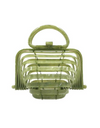 Lilli Mini Collapsible Acrylic Tote - Green - Bags