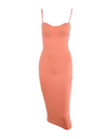 Low Bust Dress - Orange / L - Dresses