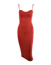 Low Bust Dress - Red / L - Dresses