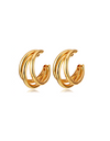Mother of Mine Kim So Yeon Inspired Earrings 002 - ONE SIZE ONLY / Gold - Earrings
