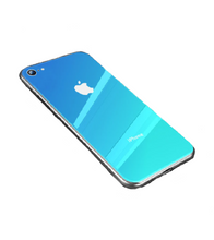 Ombre Coloured iPhone Case - iPhone 6 / Blue - iPhone Case
