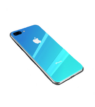 Ombre Coloured iPhone Case - iPhone 7 Plus / Blue - iPhone Case