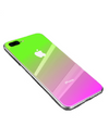 Ombre Coloured iPhone Case - iPhone 7 Plus / Green - iPhone Case