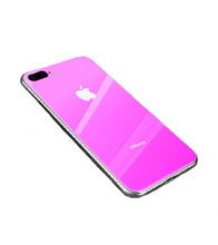 Ombre Coloured iPhone Case - iPhone 7 Plus / Pink - iPhone Case