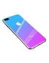 Ombre Coloured iPhone Case - iPhone 7 Plus / Purple - iPhone Case
