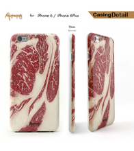 Paperworks Beef iPhone Case - iPhone Case