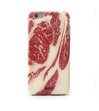 Paperworks Beef iPhone Case - Black Soft Surface Material / iPhone 6 - iPhone Case