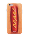 Paperworks Hotdog iPhone Case - Black Soft Surface Material / iPhone 6 - iPhone Case
