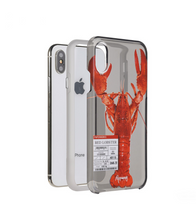 Paperworks Lobster iPhone Case - White Soft Surface Material / iPhone X - iPhone Case